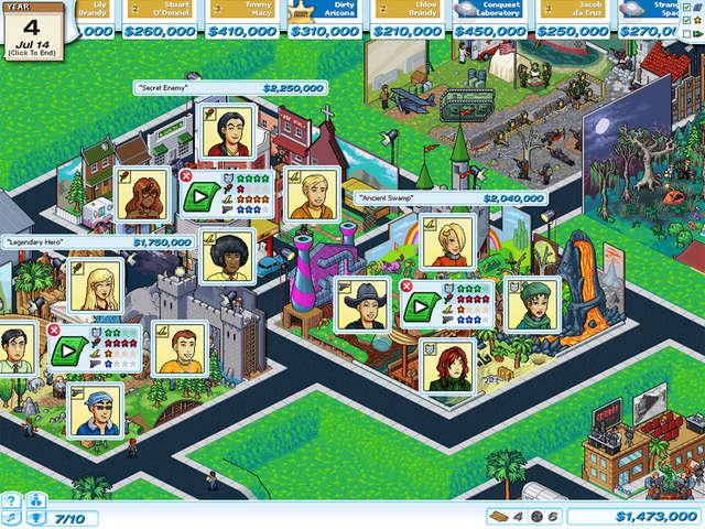 PC HOLLYWOOD PICTURES 2 TYCOON