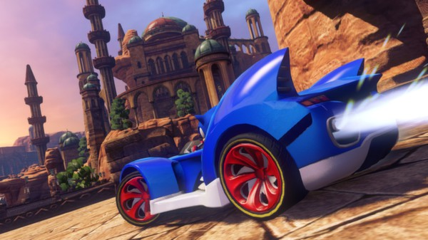 PC SONIC ALL STAR RACING TRANSFORMED
