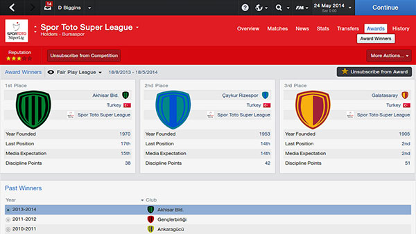 PC FOOTBALL MANAGER 2014