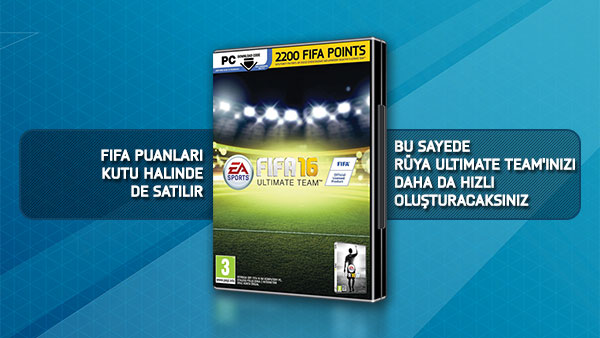 PC 2200 FIFA 16 POINTS