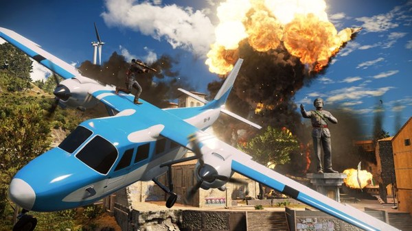 PC JUST CAUSE 3 MEDICI MAP LIMITED EDT.