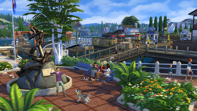 PC THE SIMS 4 CATS&DOGS