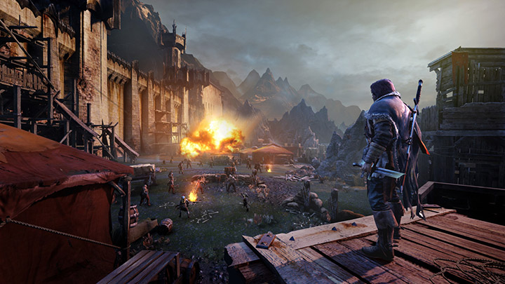 PSX3 MIDDLE EARTH SHADOW OF MORDOR