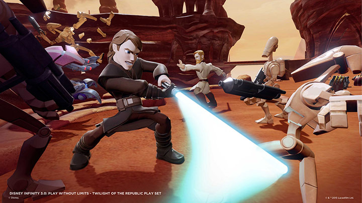 X360 DISNEY INFINITY 3.0 STAR WARS STARTER PACK