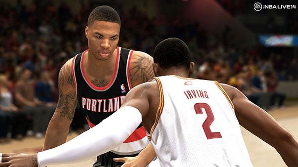 PS4 NBA LIVE 14