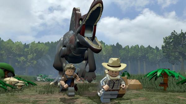 PS4 LEGO JURASSIC WORLD TOY EDITION