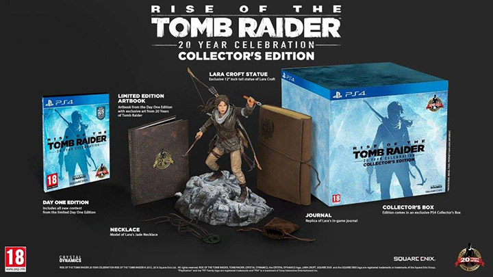PS4 RISE OF THE TOMB RAIDER 20 YEAR COLL. EDT.
