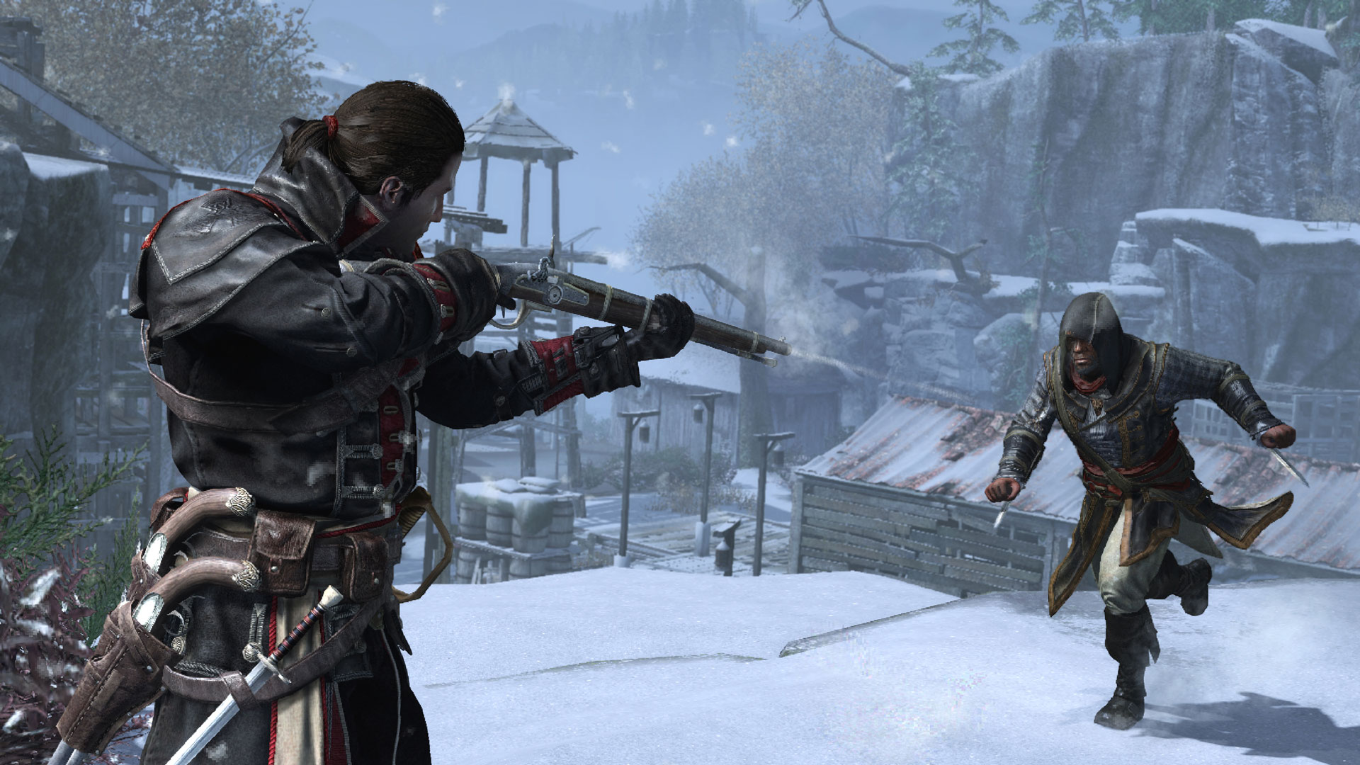 PS4 ASSASSINS CREED ROGUE REMASTERED