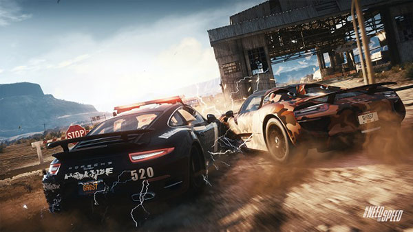 XBOX ONE NFS RIVALS