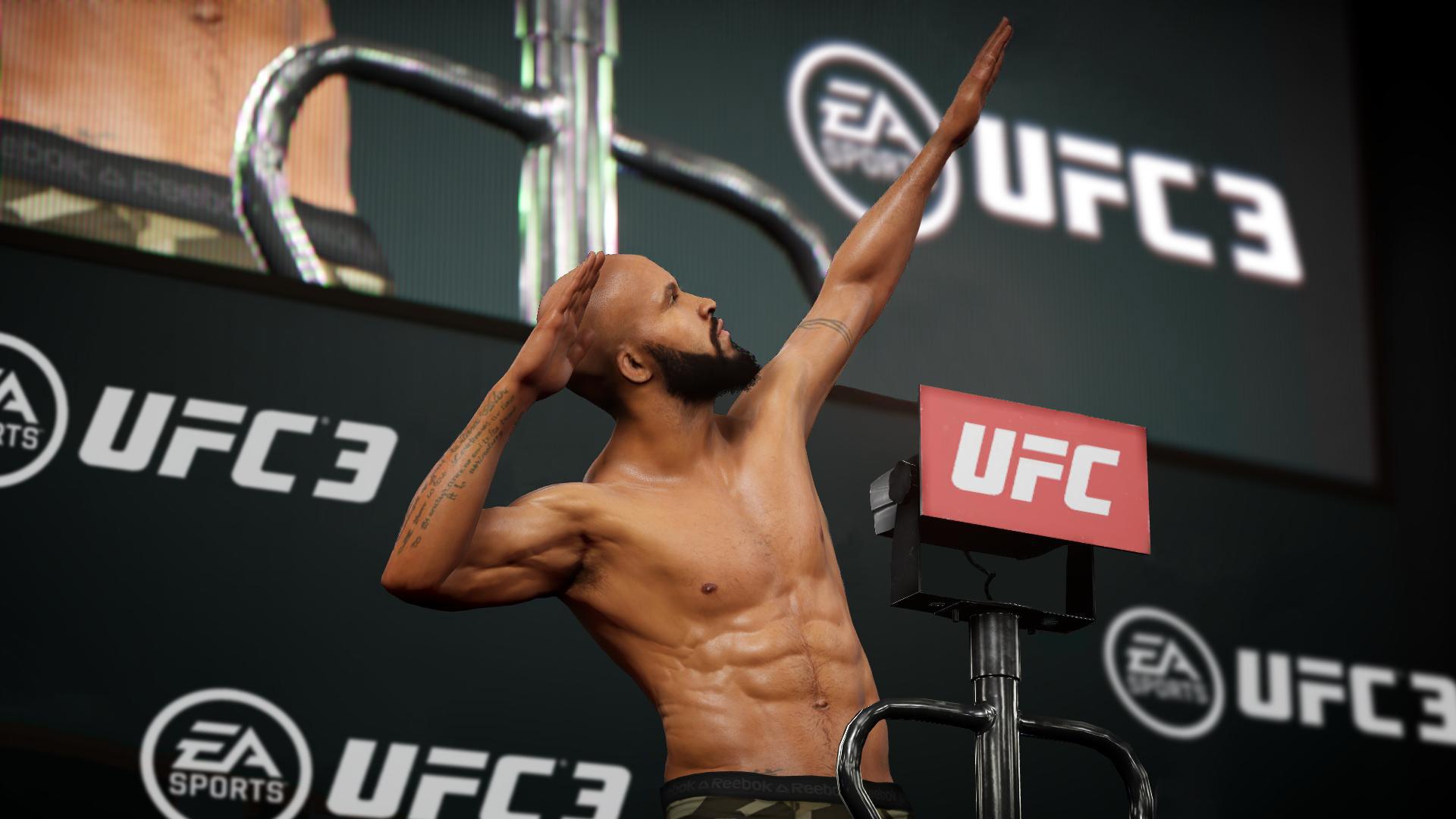 XBOX ONE EA SPORTS UFC 3